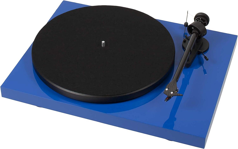 Pro Ject Debut Carbon Plattenspieler Om10 Blau Elektronik