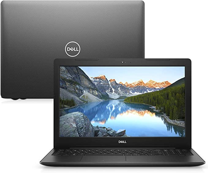"Notebook Dell Inspiron 15 3000, i15-3583-A3XP, 8ª Geração Intel Core i5-8265U, 8 GB RAM, HD 1TB, Intel® UHD Graphics 620, Tela 15.6"" LED HD, Windows 10, Preto"