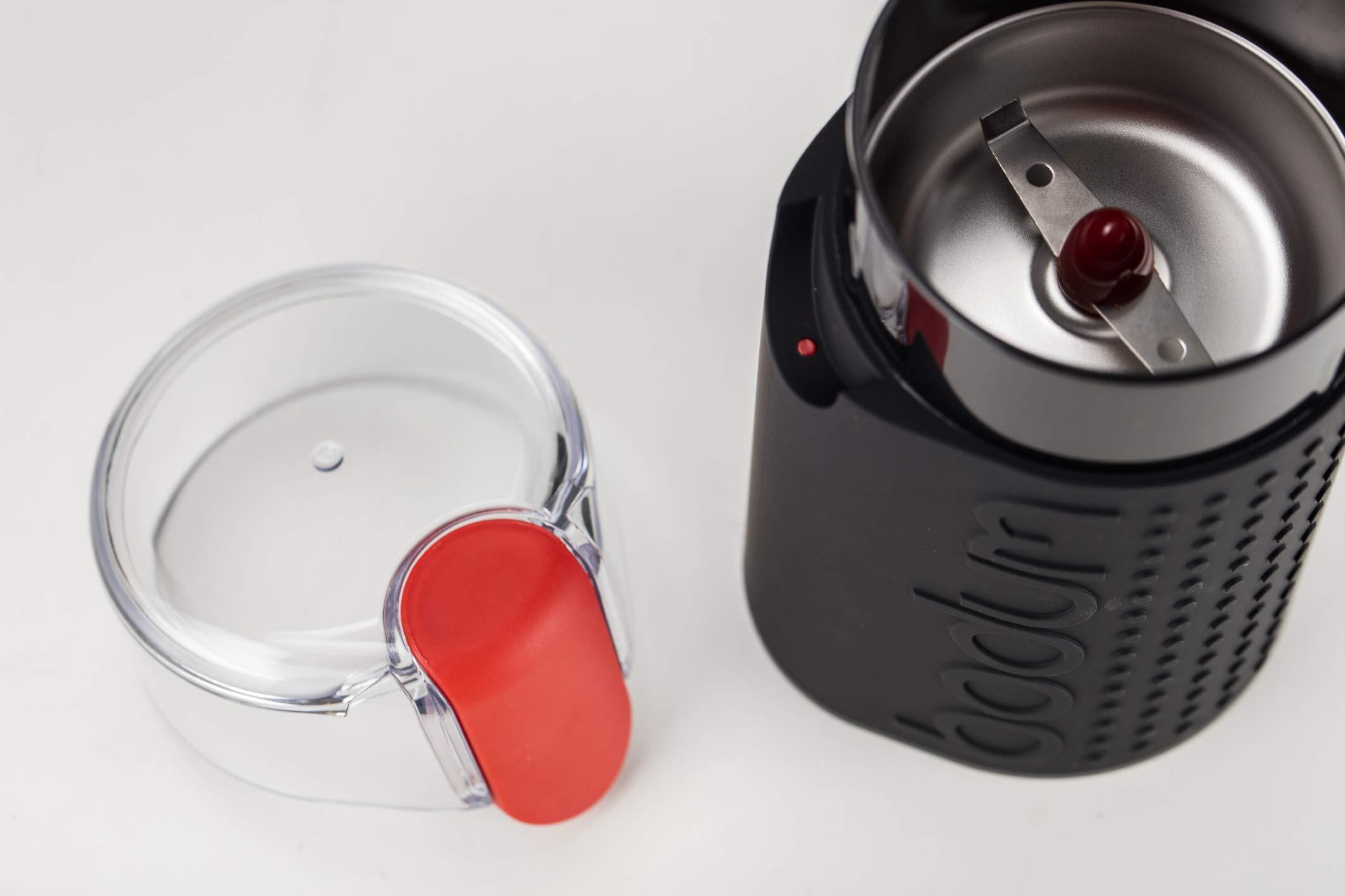 Bodum BISTRO Blade Grinder, Electric Blade Coffee Grinder, Black by Bodum (Image #7)