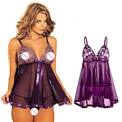 Women's Clothing Clothing, Shoes & Accessories Sexy Lingerie Porn Sex Babydoll Chemise Lingerie Sexy Hot Erotic Costumes Open Attractive Appearance