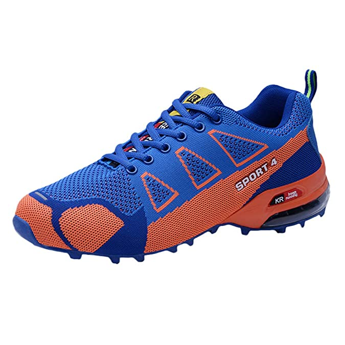 Amazon.com | PLENTOP 2019 Shoes for Men, White Dress Shoes for Men Men Casual Outdoor Mountaineering Shoe Lightweight Breathable Lace-up Sneakers | Fashion ...
