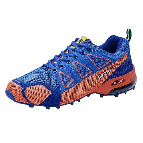 Zapatos Hombre Black Friday Casuales Invierno Zapatillas de montañismo al Aire Libre para Hombres Zapatillas de Deporte Ligeras y Transpirables con ...