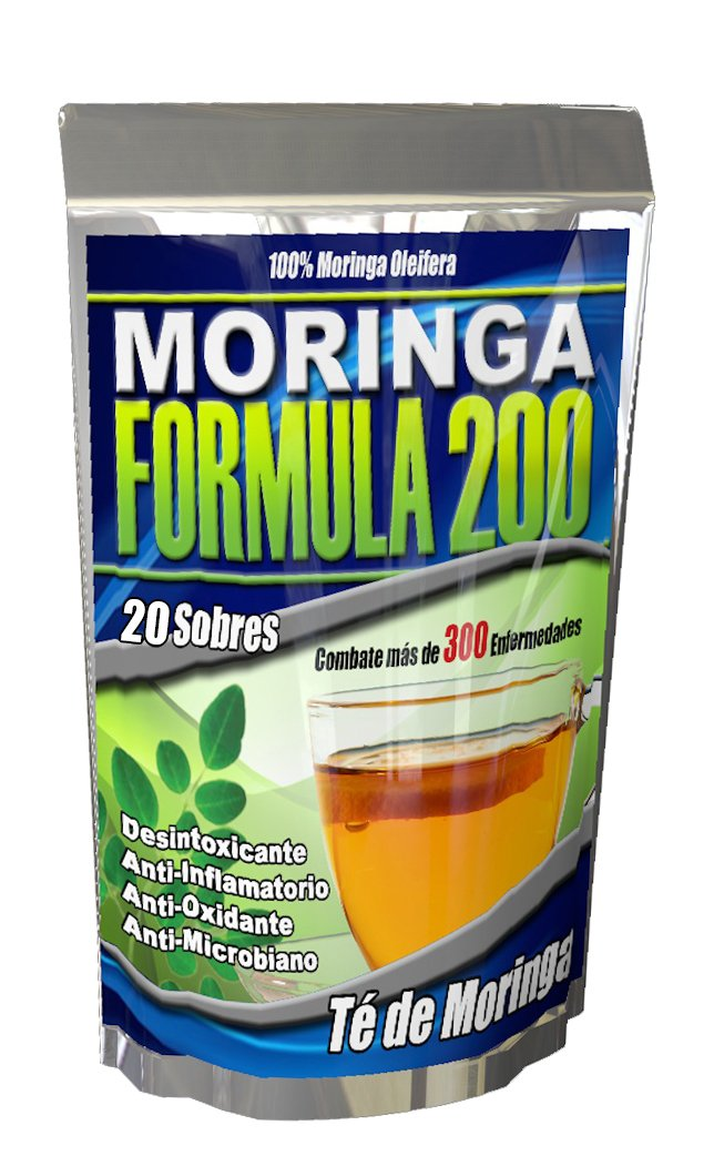 Amazon.com: Bioxtron 1 Frasco + 1 Moringa Te Gratis: Health & Personal Care
