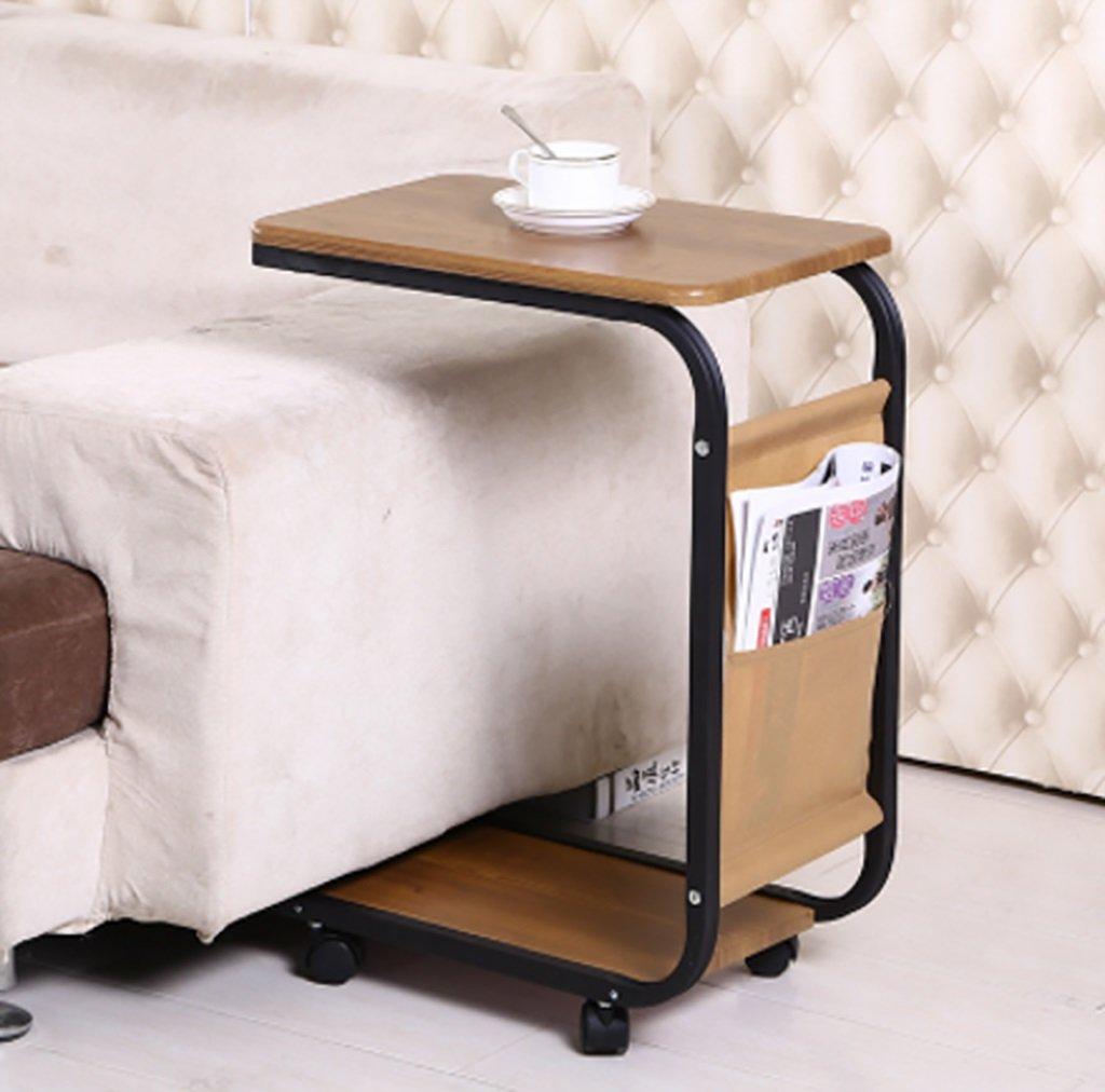 シンプルなミニモバイルサイドソファテーブル小さなコーヒーテーブル北欧ベッドサイドキャビネット小さなティーテーブルサイズ:30 * 45 * 65センチメートル (色 : B) B07F87L915B