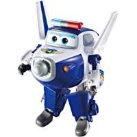 "Super Wings - Transforming Paul Toy Figure, Plane, Bot, 5"" Scale"