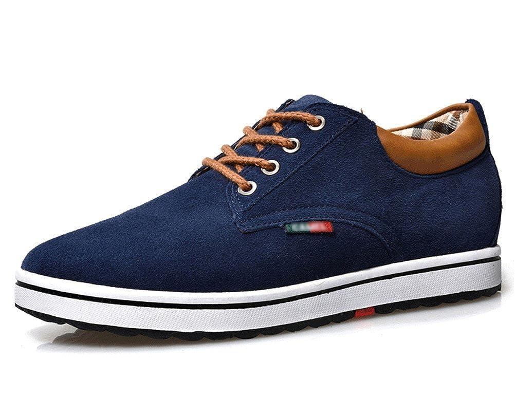 TALLA 39 EU. ailishabroy Zapatillas Hombre Ascensor Hombres Altura Aumentar Lace Up Zapatos Casual