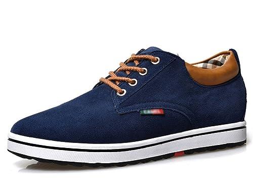 ailishabroy Zapatillas Hombre Ascensor Hombres Altura Aumentar Lace Up Zapatos Casual: Amazon.es: Zapatos y complementos