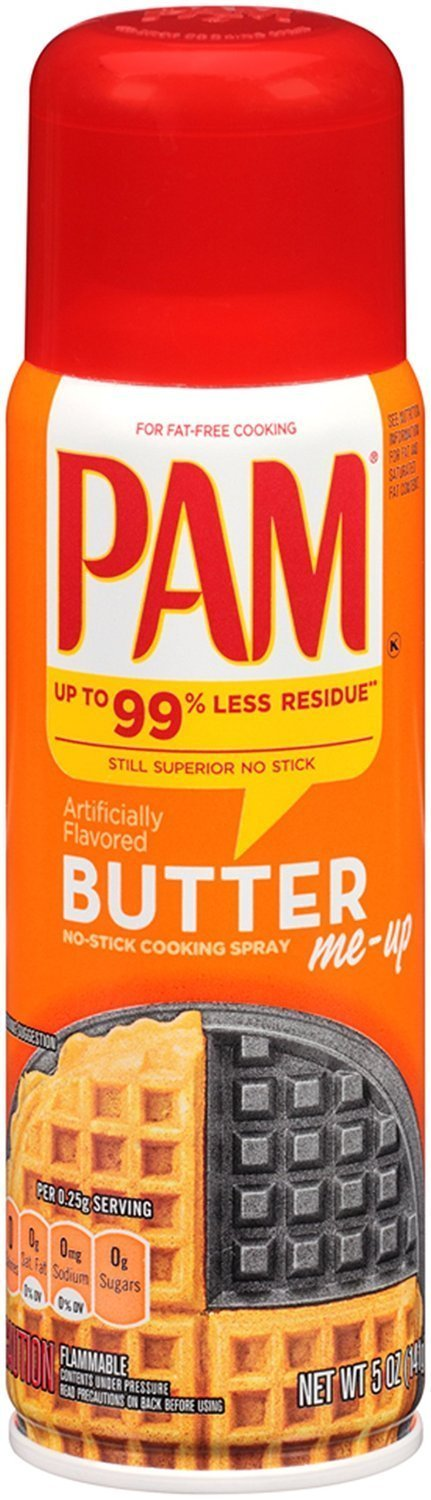 Pam Butter Flavor Cooking Spray, 5 oz 3pack by Pam GM Concepts