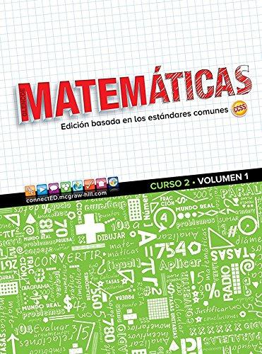 Descargar Libro Glencoe Math, Course 2, Volume 1, Spanish Student Edition Mcgraw-hill Education