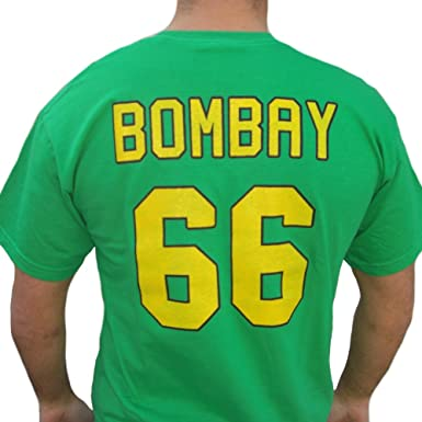 ed29f150a Amazon.com: Gordon Bombay #66 Mighty Ducks Movie Jersey T-Shirt ...