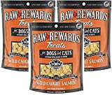 (3 Pack) Northwest Naturals Freeze Dried Salmon Dog and Cat Treats, 2.5 Ounces each