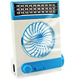 Ansee Solar Fan Camping Fan Cooling Table Fans 3 in 1 Multi-Function with Eye-Care LED Table Lamp Flashlight Torch Solar…