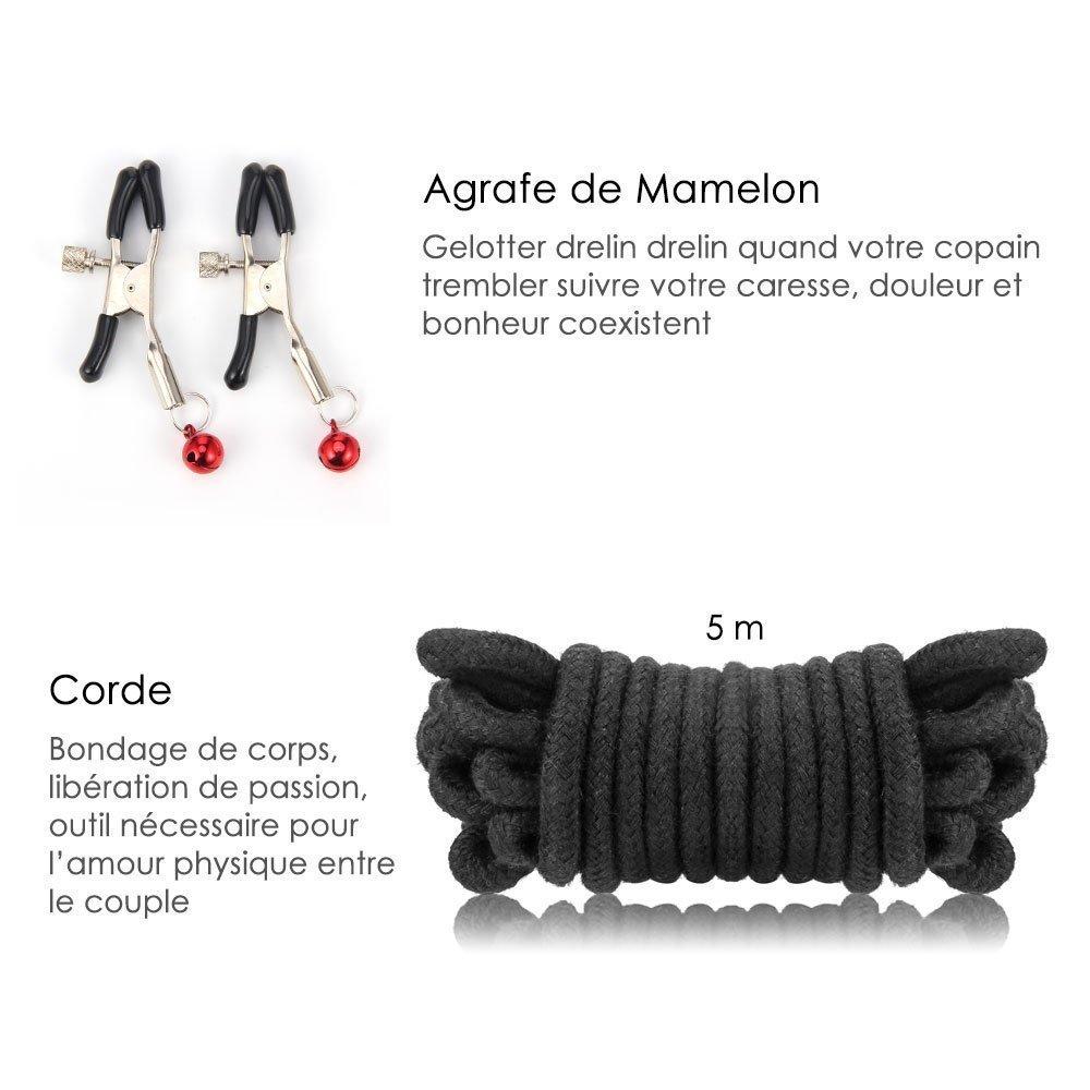 10pcs kit de main de luxe en cuir jouet
