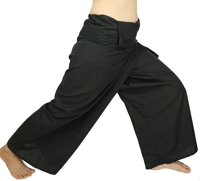 49244407ded Lovely Creations s Plus Size Man and Women Thai Fisherman Jumbo Wrap Pants  Toray Wild Long Leg