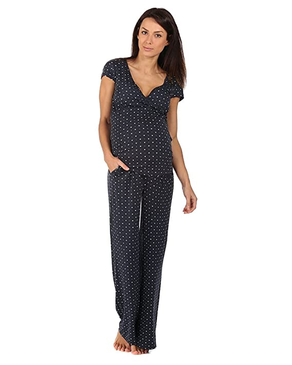 The Essential One- Pijama de lactancia premamá/Camisones para mujer EOM102: Amazon.es: Bebé