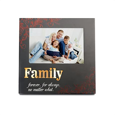 Amazon.com - OUCHAN Family Picture Frames 4x6 Light Up with Engraved ...