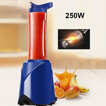 JUNERAIN 250W 600ml 4 Cuchillas Batidora eléctrica portátil Licuadora Batidora de batido de Frutas: Amazon.es
