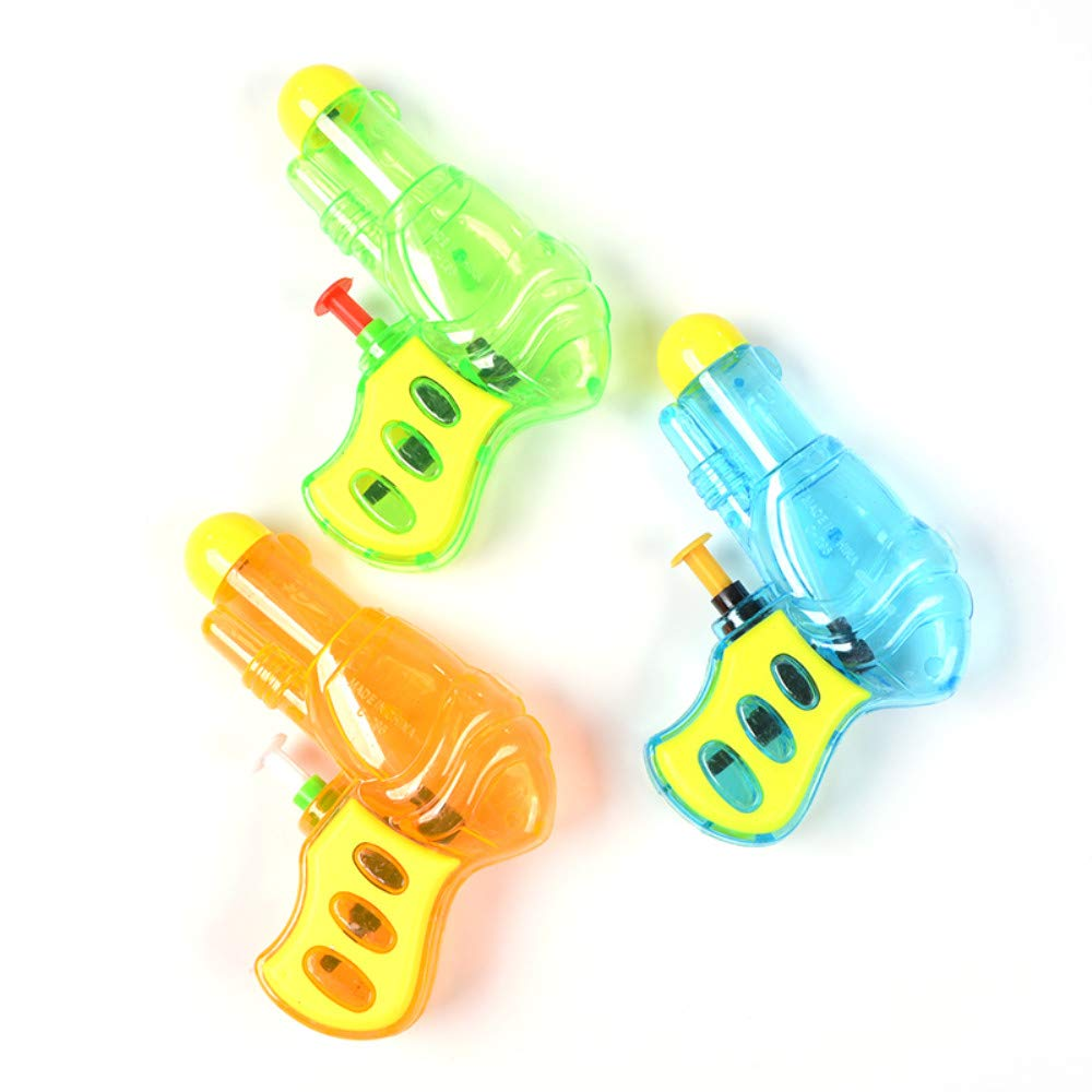 GamePath Water Guns for Kids Adults, 4 Nozzles 1200cc Super Soaker Water Blaster Pistol Squirt Gun for Water Fight Swimming Beach Water Toy 30-35 Feet Shooting Range for Kid&Adult by GamePath