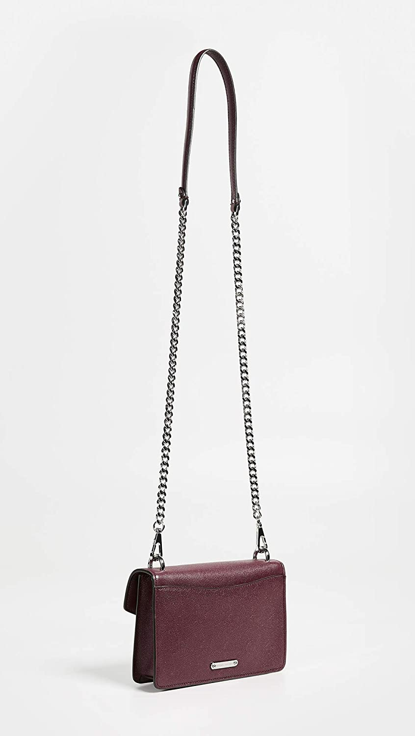 Rebecca Minkoff Women's Jean Crossbody Leather Cross Body Bag Bordeaux