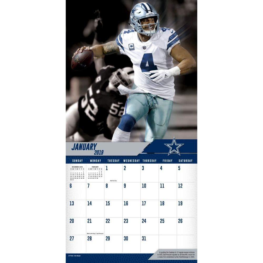 Lang Companies Inc Dallas Cowboys Dak Prescott 12 x 12 Wall Calendar