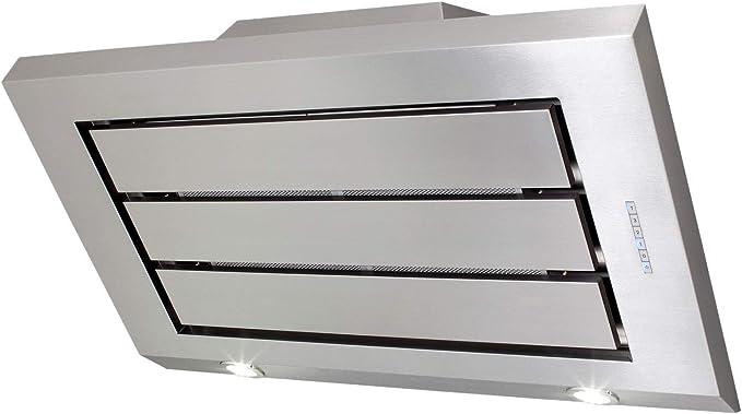 SOGELUX HCK92XF - Campana de pared inclinada (acero inoxidable): Amazon.es: Grandes electrodomésticos