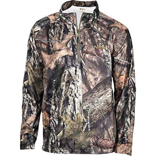 - Rocky Men's Break Up Camo Wind Shirt Jacket Brown X-Large