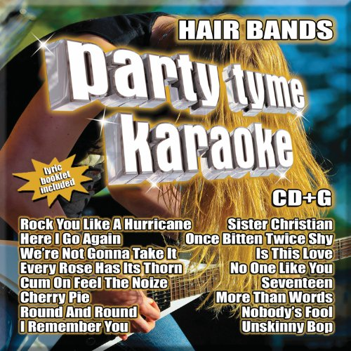 Party Tyme Karaoke Bands 16 Song