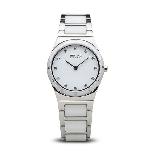 BERING Reloj Analógico para Mujer de Cuarzo con Correa en Acero Inoxidable 32230-764: Amazon.es: Relojes