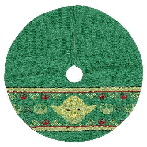 Star Wars Tree Skirt Yoda