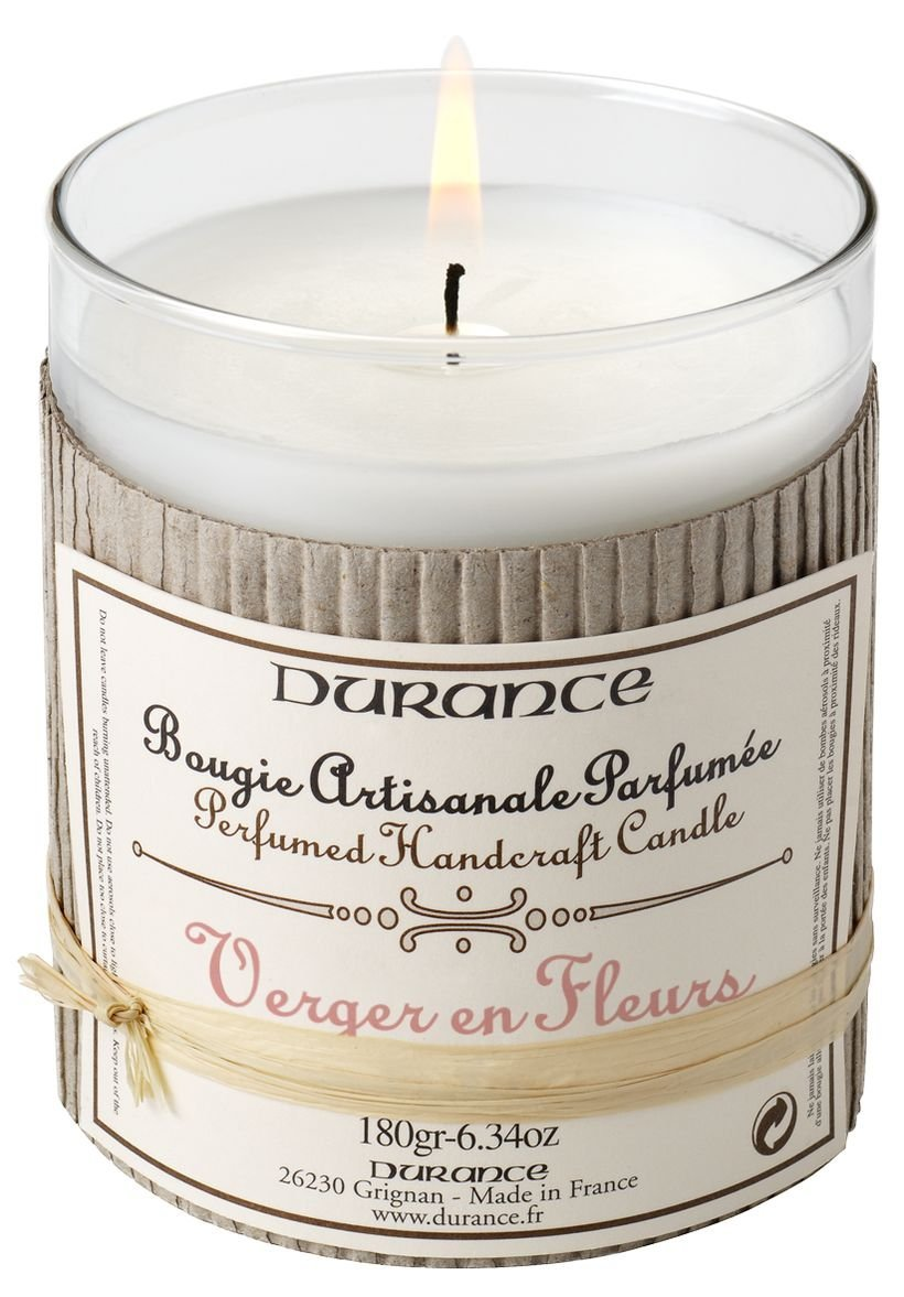 Bougie artisanale Parfumée Verger en Fleur