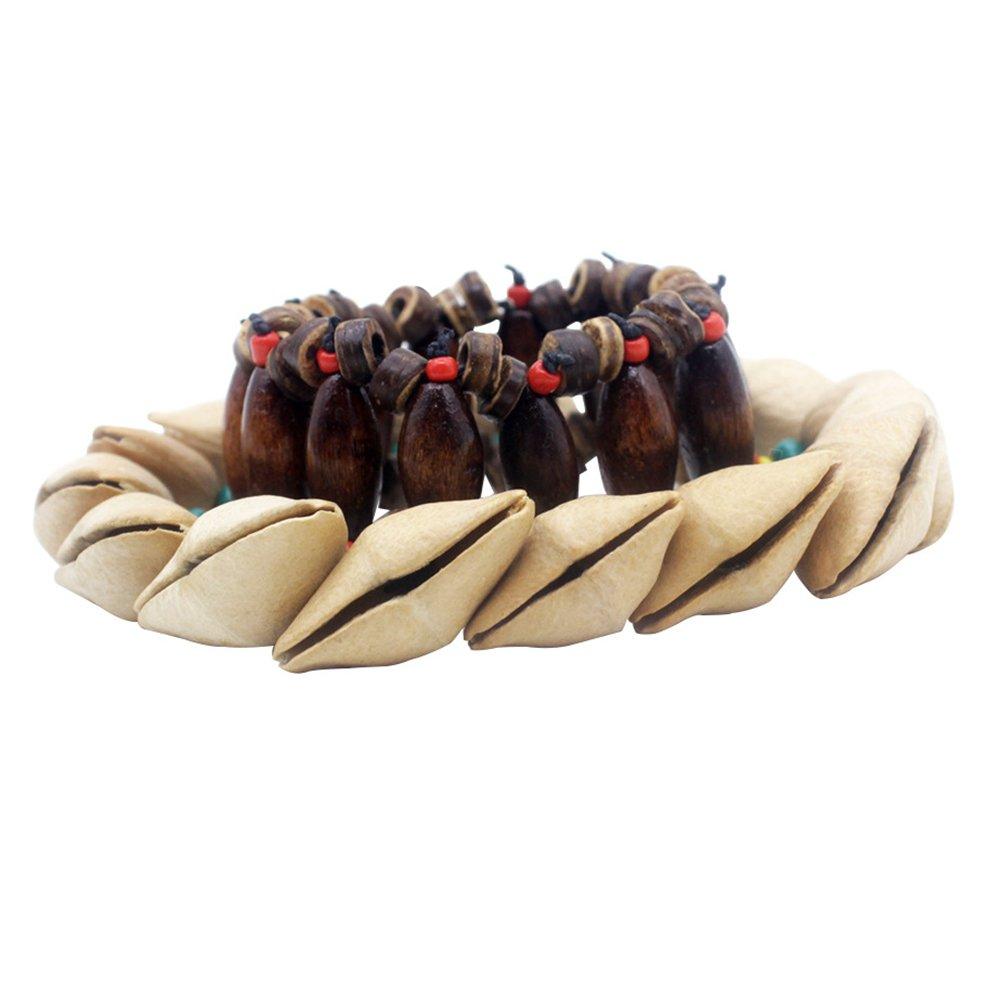 SoundsBeauty Creative African Tribe Style Nutshells Crackle Beaded Bracelet Decorations Gift