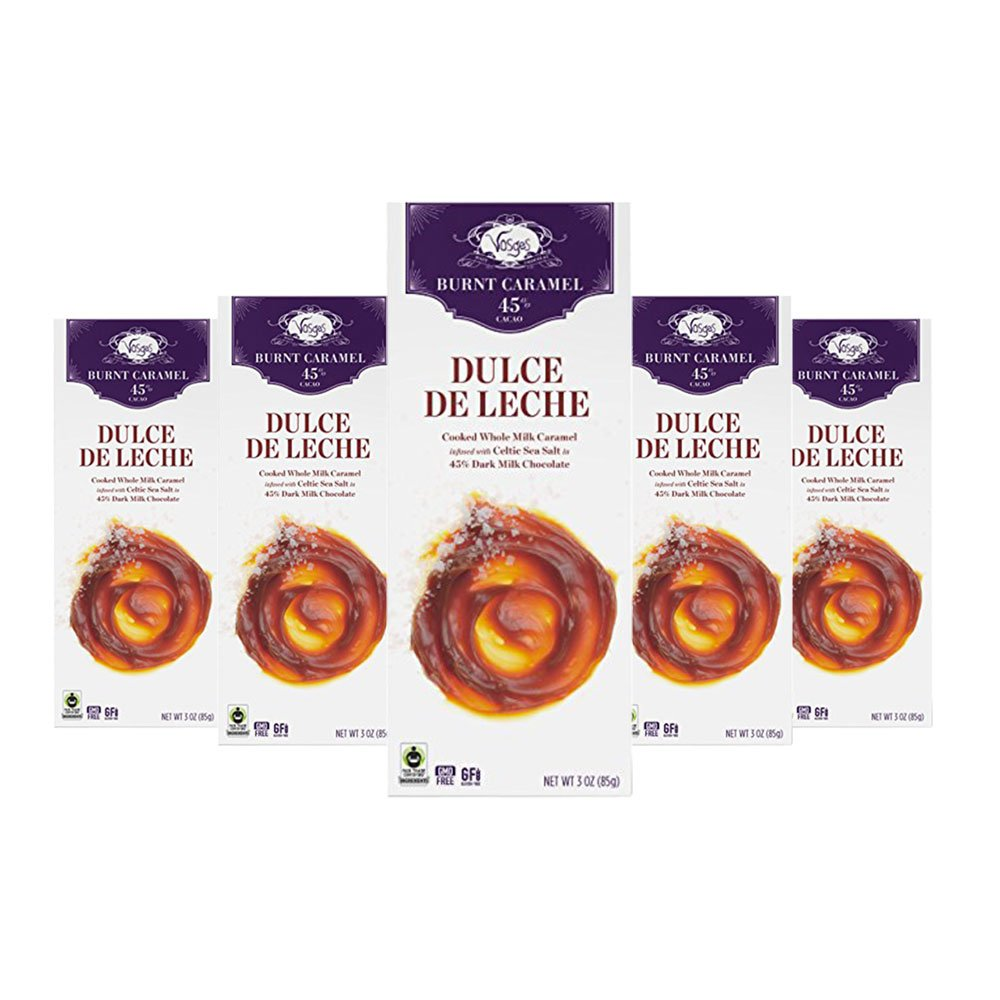 Amazon.com : Vosges Haut-Chocolat Dulce de Leche Chocolate, Pack of 12, 3 oz Bars : Grocery & Gourmet Food
