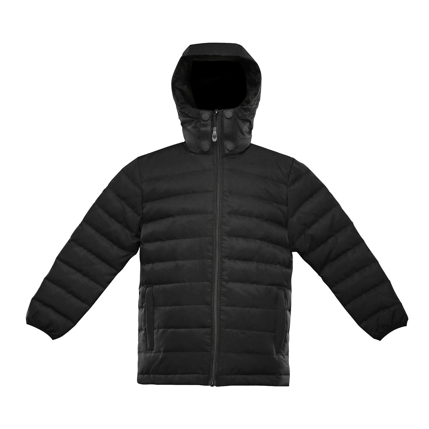 Triple F.A.T. Goose Saga Collection | Boys 750 Fill Power Light Weight Down Jacket (12/14, Black)