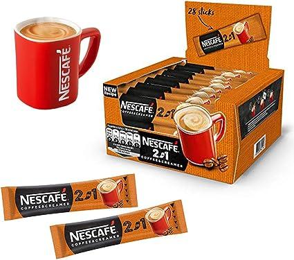 224 sobres x cafetera Nescafe 2 in1 cremosa UE fabricado largo FECHA fresco Stock al por mayor Reino Unido: Amazon.es: Belleza