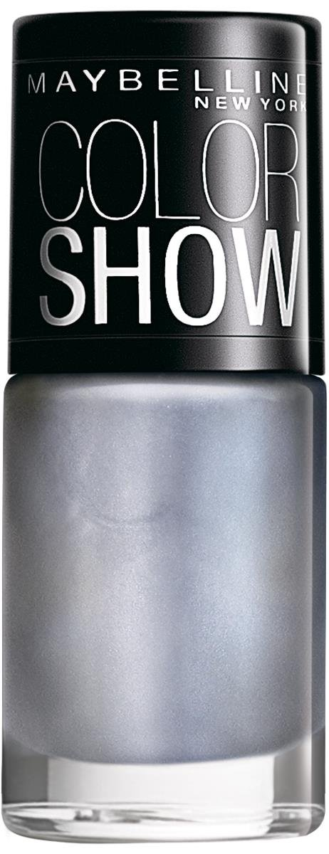 Maybelline New York Color Show Nail Enamel, Silver Linings