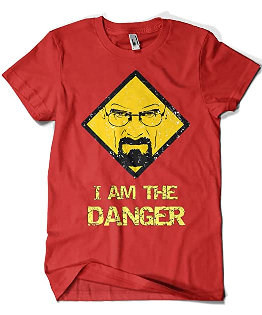1525-Camiseta Breaking Bad - IAm The Danger