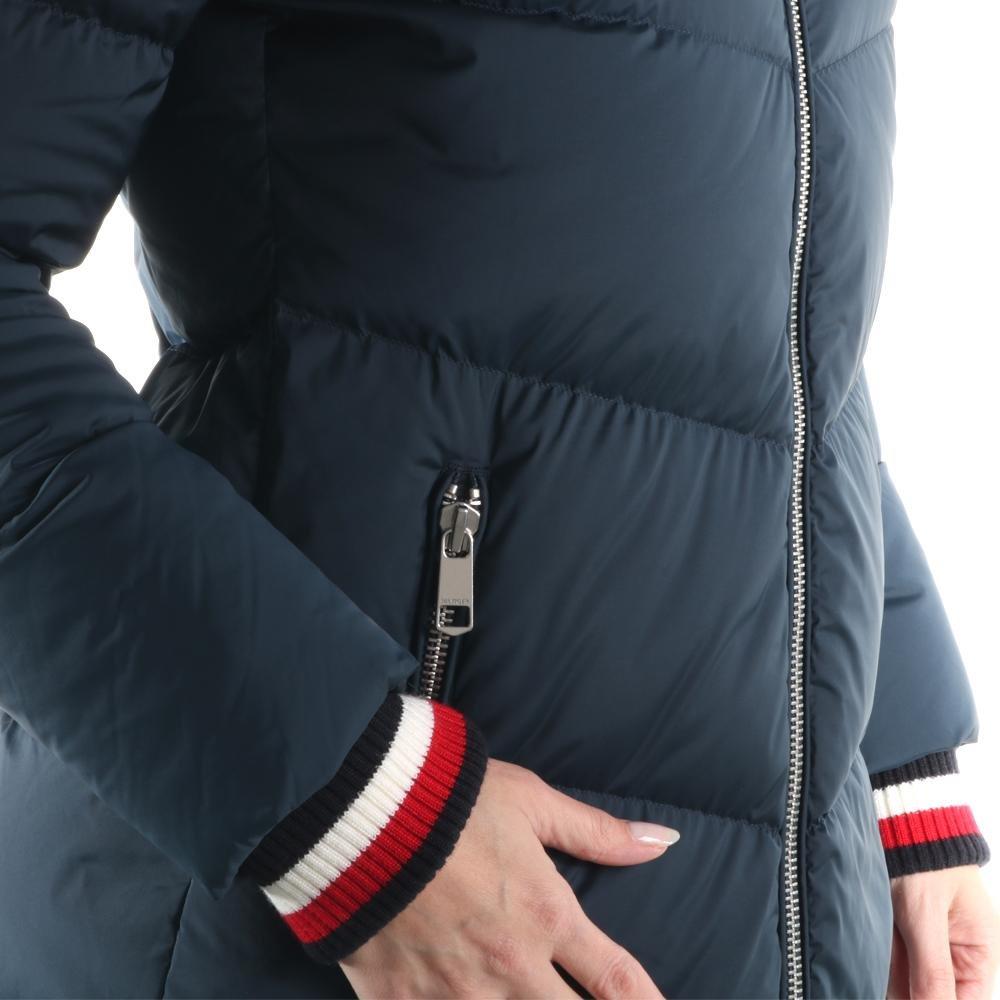 Tommy Hilfiger Mantel Callie Icon Down Coat WW0WW20743 403 Gr. M   Amazon.de  Bekleidung 04fabb6ab3