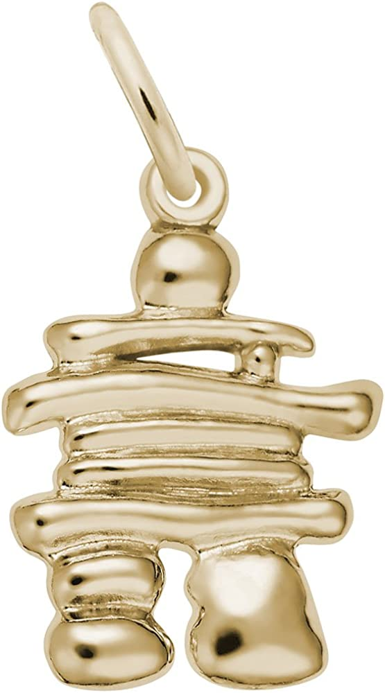 10K Yellow Gold Rembrandt Charms Veterinarian Charm with Lobster Clasp