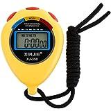 Sport Chronomètre numérique, fonte Power étanche multifonction Minuteur Arrêt Montres Horloge avec grand écran électronique, idéal pour le sport fitness Trainer et Arbitre