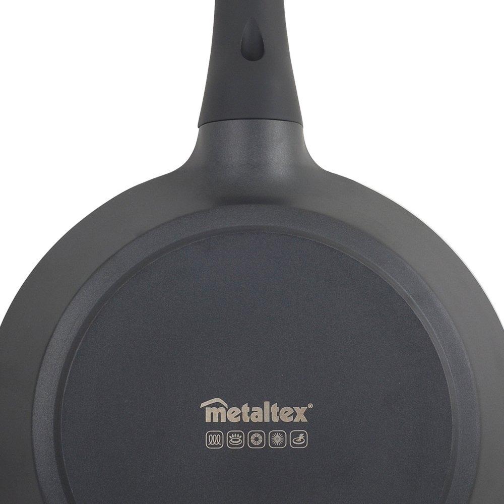 Metaltex XPERT - Sartén Aluminio Fundido, 26 cm, antiadherente 3 capas, Full Induction válido para todo tipo de cocinas: Amazon.es: Hogar