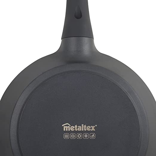 Metaltex XPERT - Sartén Aluminio Fundido, 28 cm, antiadherente 3 capas, Full Induction válido para todo tipo de cocinas: Amazon.es: Hogar