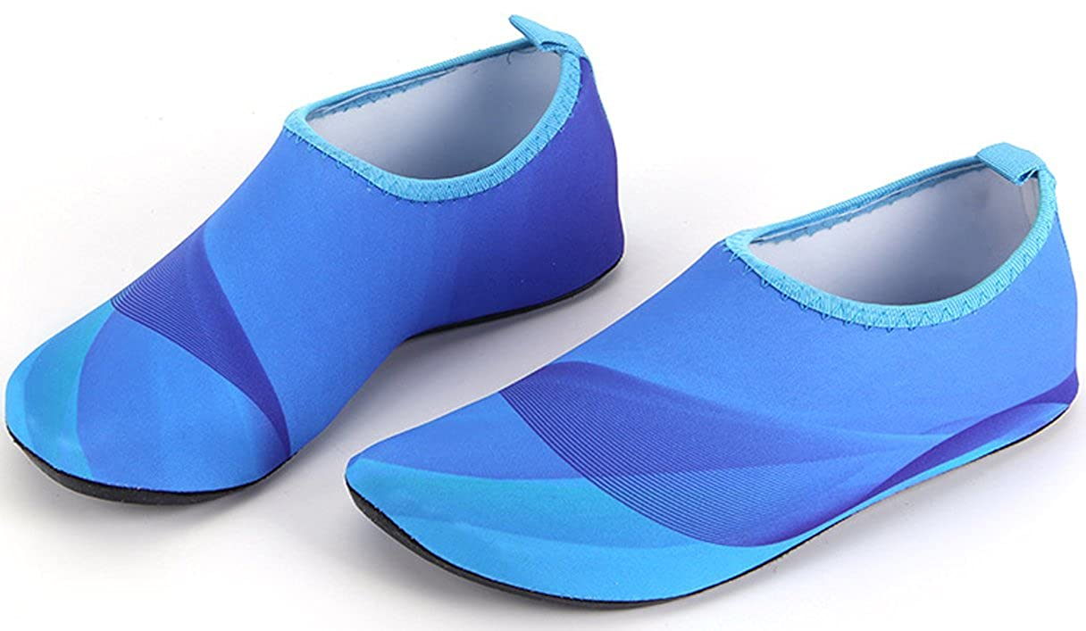 WAROFT Womens Barefoot Slip On Aqua Water Shoes Quick Dry Athletic Summer Beach Shoe for Running Swimming Size 5-14