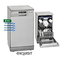 Exquisit GSP 9510.1 Inox Spülmaschine, inox