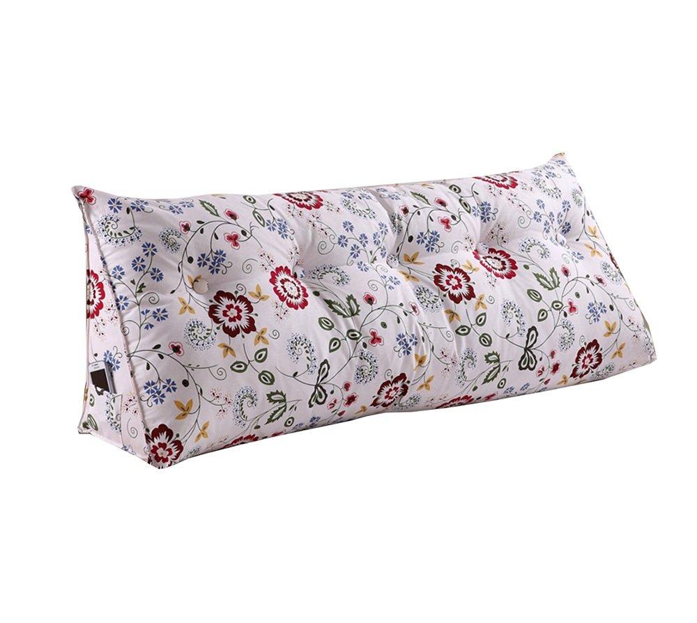 ファッション居心地の良いベッドサイドの背もたれ三角ベッドの枕ソファ大きなロングクッション/枕腰の枕クッションを読む (サイズ さいず : 150 * 50 * 22cm) 150*50*22cm  B07DK79KB8