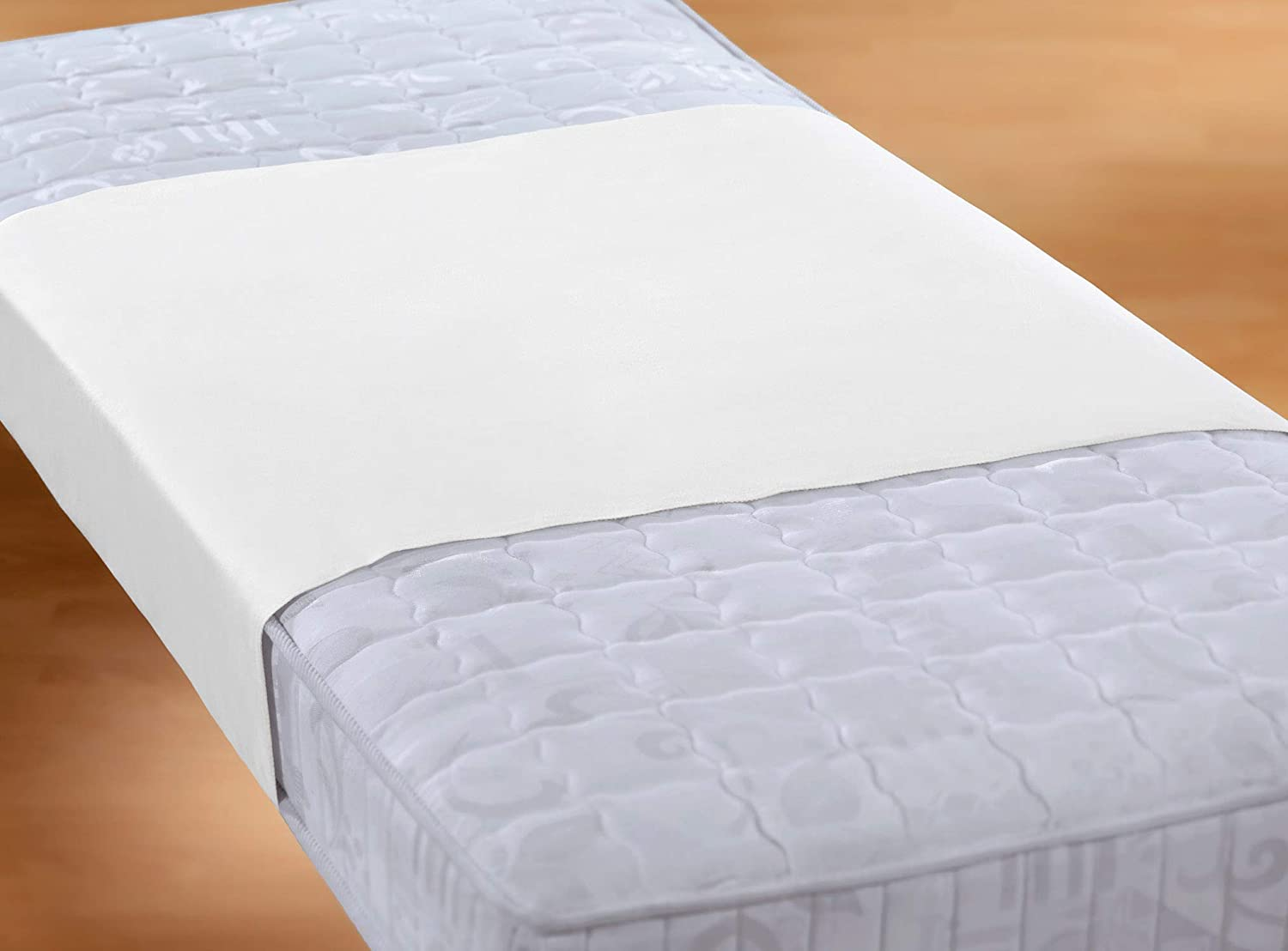 24 Bedding Waterproof Fitted Sheet Fitted Sheet Molton 70 x 200 cm