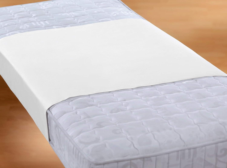 Biberna Sleep & Protect 0809840 Edición Sábana, Tela, Blanco, 90x 160 cm