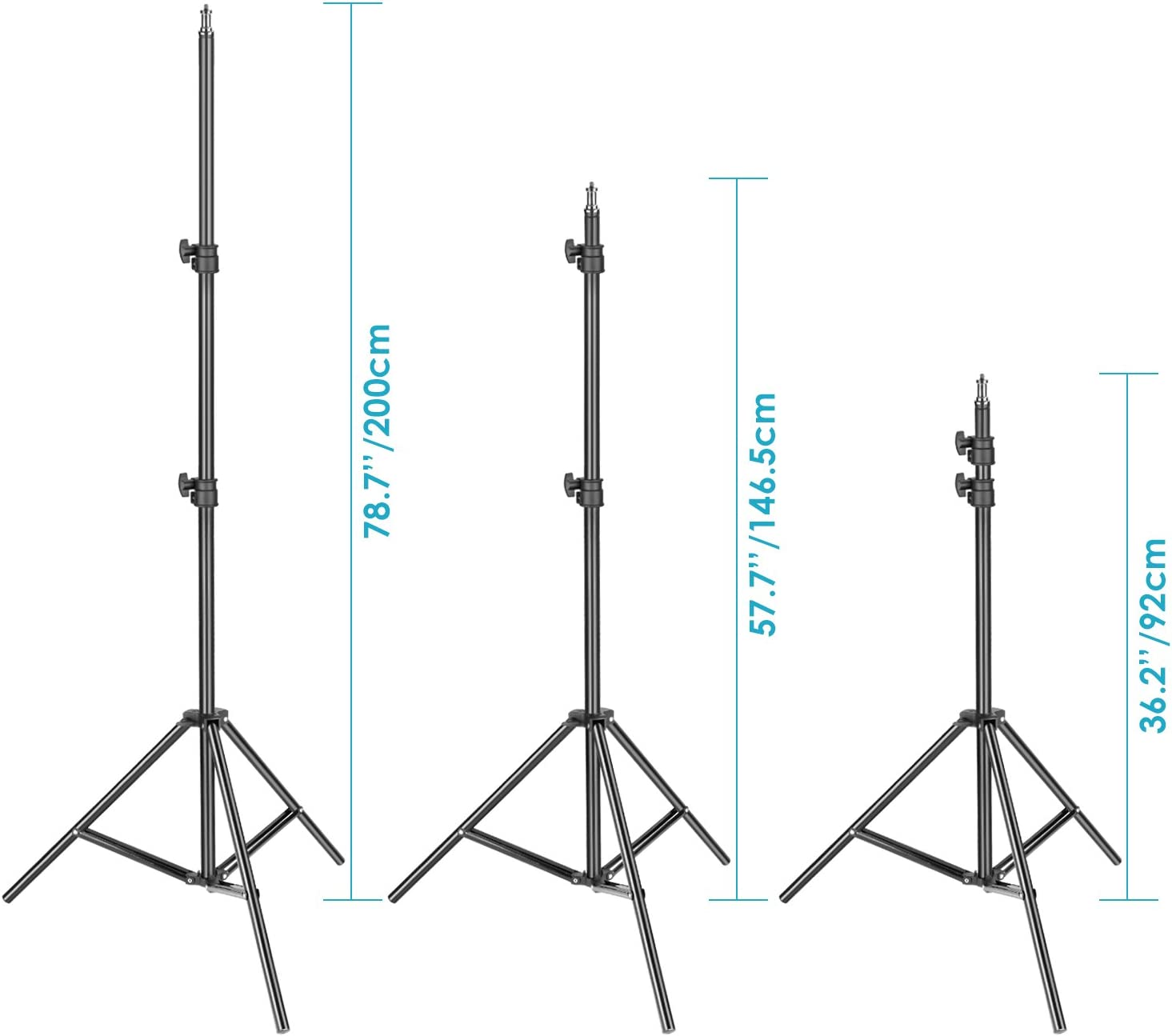 YouTube Outdoor Video Photography 9 feet Light Stand for Studio Neewer Dimmable Bi-Color 960 LED Video Light and Stand Lighting Kit Ultra Thin 960 LED Panel with U Bracket and Durable Metal Frame