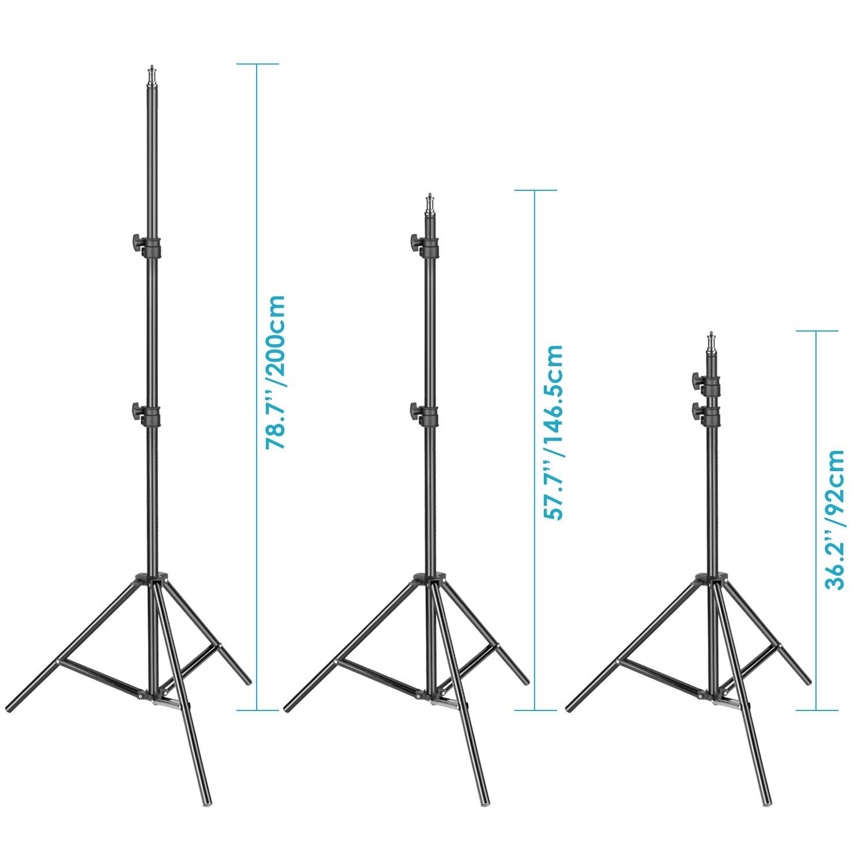 Neewer 800W Photo Studio Strobe Flash and Softbox Lighting Kit: (2)400W Monolight Flash(S-400N),(2)Reflector Bowens Mount,(2)Light Stand,(2)Softbox,(2)Modeling Lamp,(1)RT-16 Wireless Trigger,(1)Bag by Neewer (Image #6)