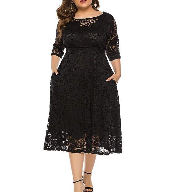Amazon.com: Eternatastic vestido de cóctel con escote ...