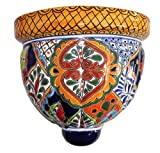Talavera Large Wall Planter – 10.25″ x 9.75″